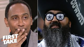 Stephen A. has an ulterior motive for wanting to see the Cowboys in the playoffs | First Take
