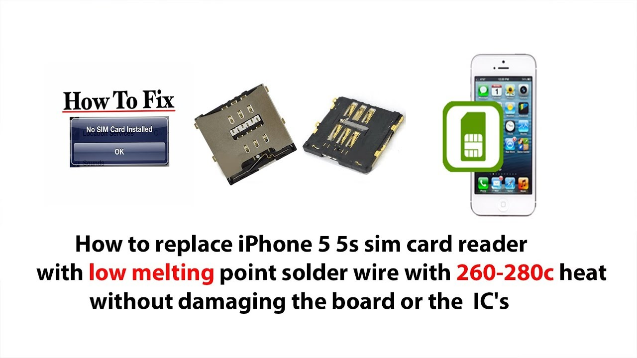 iphone 5s sim iphone 5 5s sim card reader replacement hd 11248