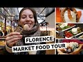 Italian Food Tour at Central Market in Florence, Italy