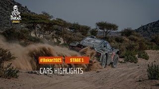 #DAKAR2021 - Stage 1 - Jeddah / Bisha - Car Highlights