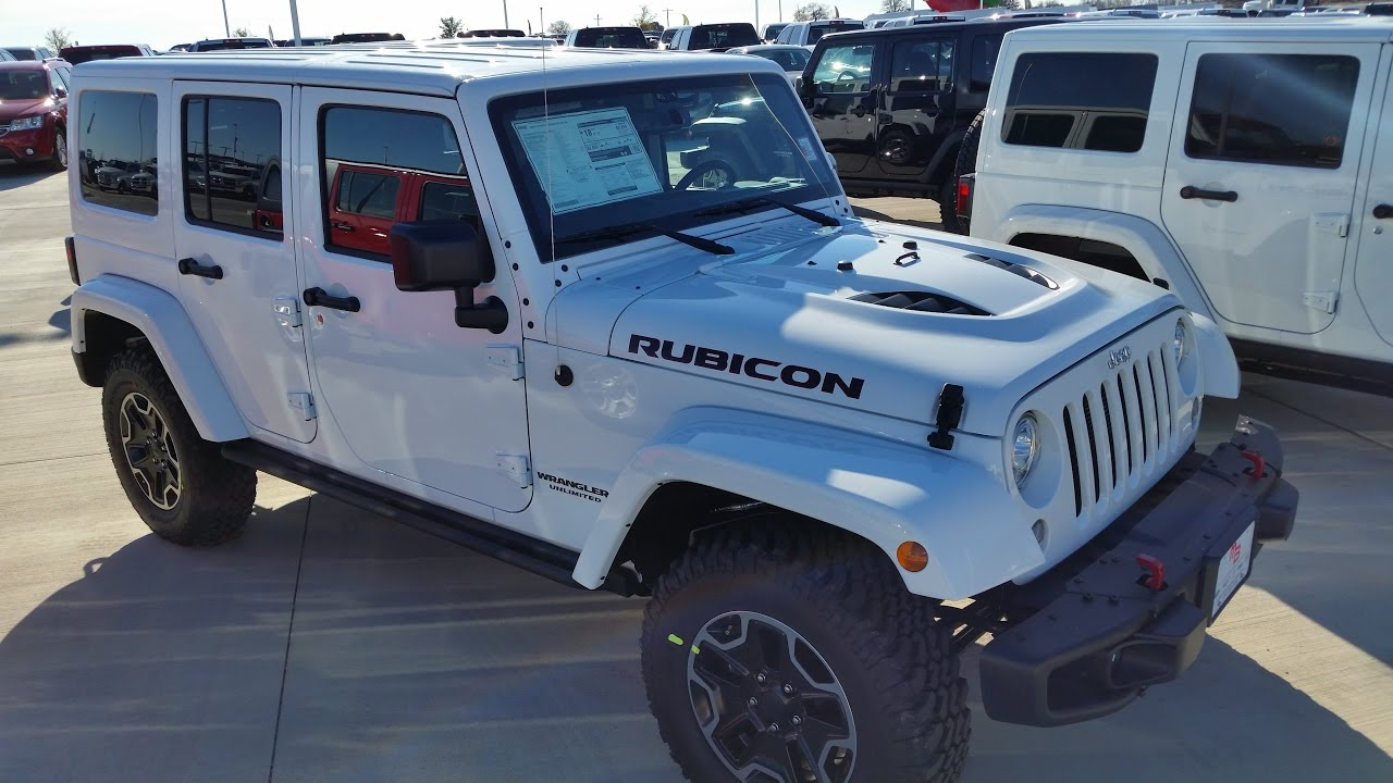 wrangler jeep rubicon specs cars