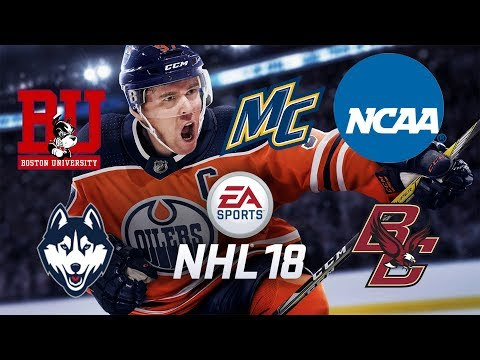 NHL 18 - NCAA Hockey Teams - Hockey East