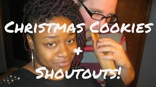 Christmas Cookies & Shoutouts Vlog  #20