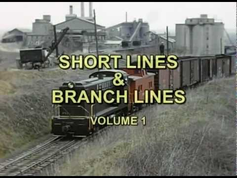 Short Lines & Branch Lines Vol 1
