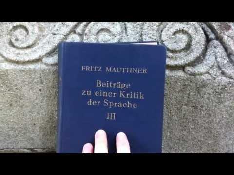 Unboxing Fritz Mauthner