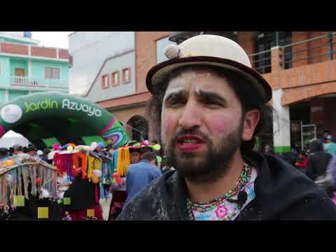 Carnavalazo Jardin Azuayo, El Tambo.