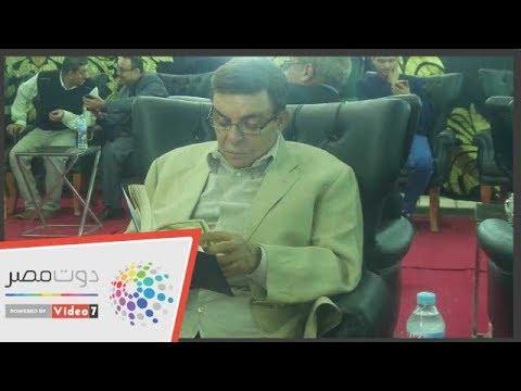 الفنان سمير صبرى يتلو القرآن فى عزاء حمدى قنديل  - 20:54-2018 / 11 / 8