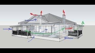 видео Соединение чердачных перекрытий, проектирование общей крыши над домом