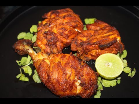 How To Make Grilled Chicken In Microwave Oven At Home | Hindi