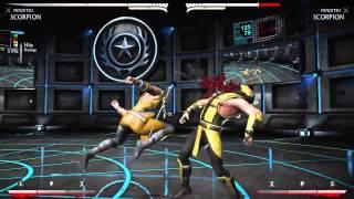 Mortal Kombat X - Скорпион Ниндзюцу Комбо Урок (Scorpion Ninjutsu)