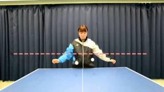 森薗美咲選手(日立化成)にバウンド比較テストを行っていただきました...