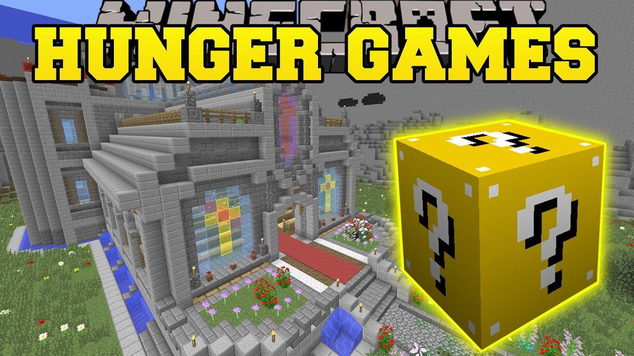 Minecraft Wedding Hunger Games Lucky Block Mod Modded