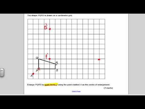 Transformations 2 (GCSE Higher Maths) - Exam Qs 28