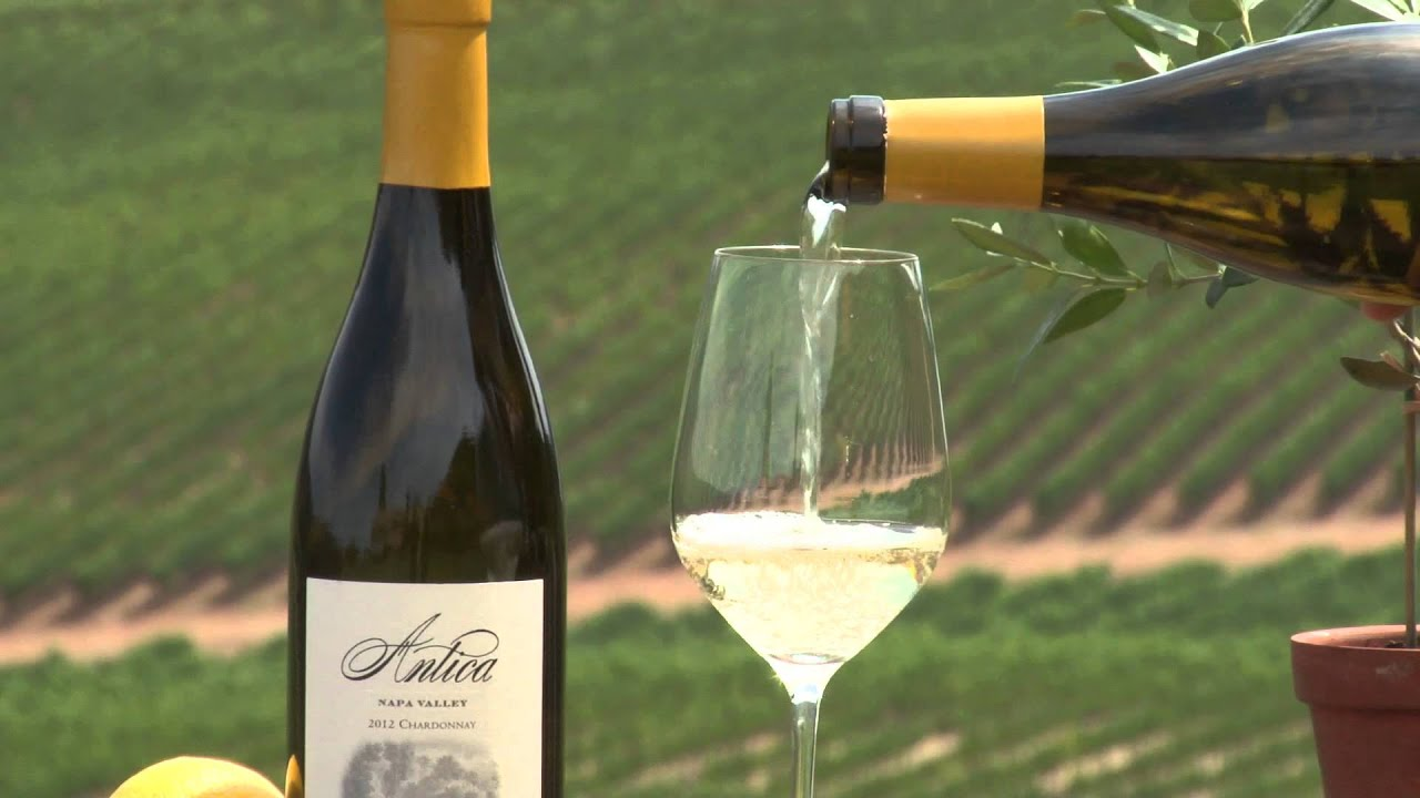 Antica Napa Valley 2012 Chardonnay - YouTube