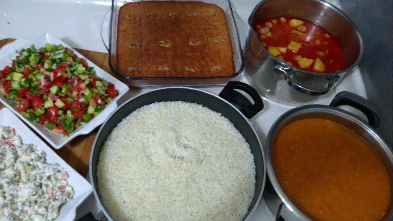 Kısa sürede iftar menüsü nasıl hazırlanır