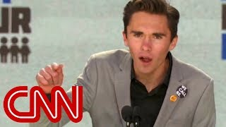 David Hogg: You can hear the people in power shaking