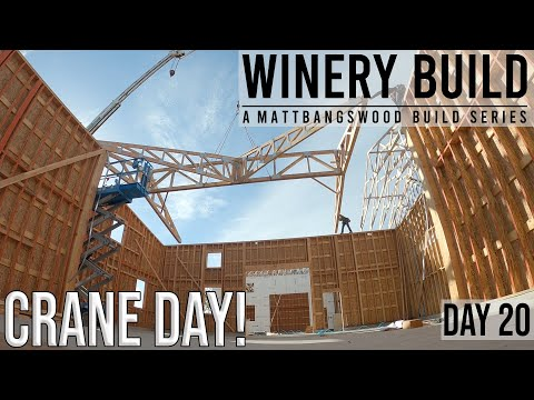 Craning In Roof Trusses + Prefabbing 32'x32' Section! [DAY 20]