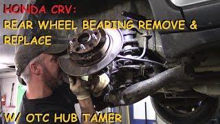 Honda Crv: Rear Wheel Bearing & Other Repairs