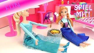 Camping Urlaub mit Elsa und Anna - Marchmallows am Lagerfeuer Story