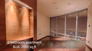 2 Bedrooms in Burj Khalifa