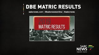 2019 DBE Matric Results Announcement