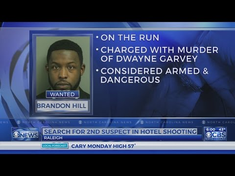 Second suspect in Raleigh hotel murder on the run after police chase