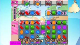 Candy Crush Saga Level 1606 NO BOOSTERS