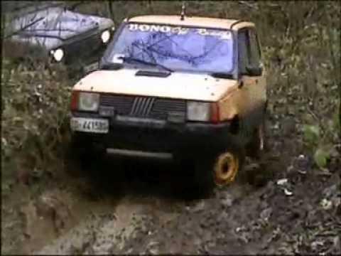 Fiat panda 4x4 extreme youtube for Panda 4x4 extreme