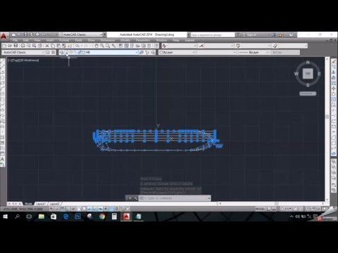How to draw a 3D ship in AutoCad from lines