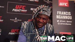 Francis Ngannou Doesn't See Why He and Cain Velasquez Have to be Anything Other Than Friendly