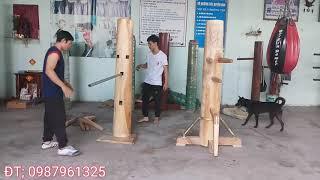 hướng dẫn lắp ráp mộc nhân,mộc nhân đế lò xo và mộc nhân đế thường_toankungfu