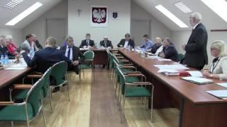 XXVI Sesja Rady Gminy Zadzim - 15.07.2016 cz. 1