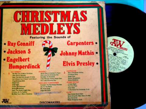Christmas Medley- Ray Conniff & Jackson 5 & Engelbert Humperdinck.Lp