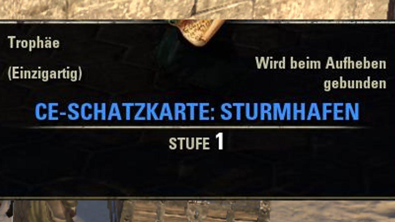 TESO] [Schatzkarten] CE-Schatzkarte: Sturmhafen | Stormhaven CE ...