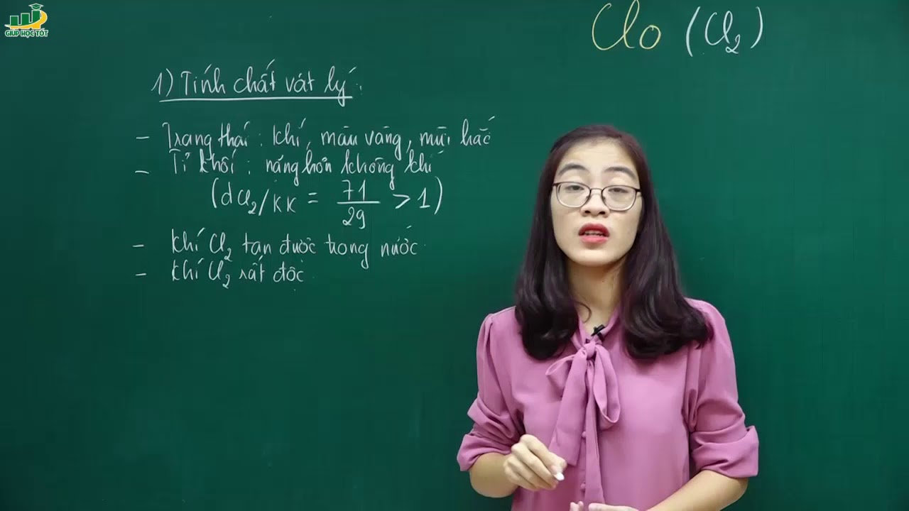 Hóa Học Lớp 9 –Bài giảng Clo| Bài tập clo lớp 9Phi kim. Bảng tuần hoàn các nguyên tố hóa học