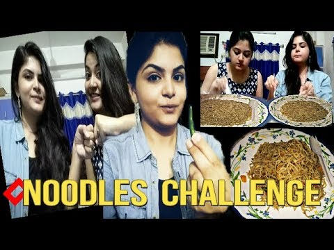 2X Noodles Eating Challenge | The Fastest NOODLES Eaten Ever | Food Challenge India thumbnail