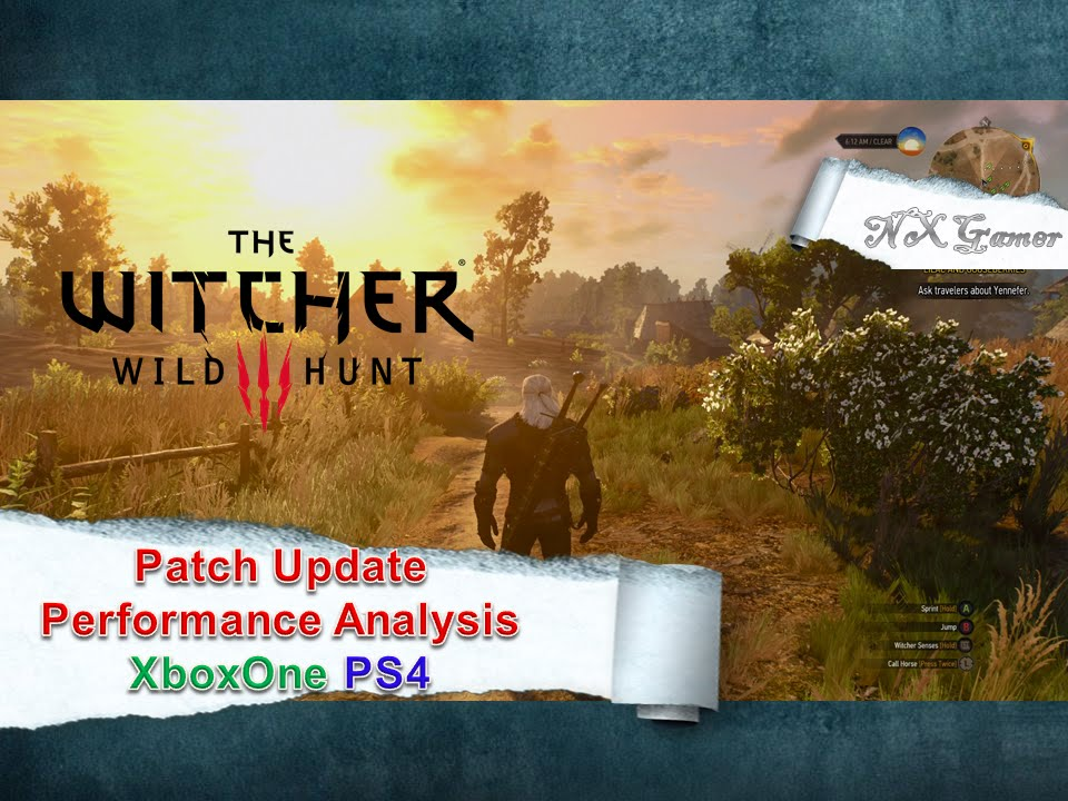 The latest Witcher 3 patch is    1 07 • Eurogamer net