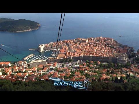 Dubrovnik Cable Car / Žičara Srđ - Croatia HD 2015