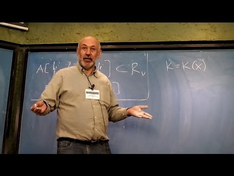 Singularities & valuations: interactions between geometry & commutative algebra 4 (Mark Spivakovsky)