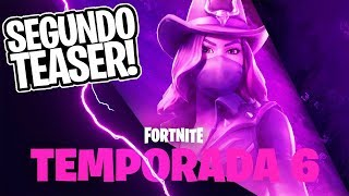 SECOND TEASER OF THE SIXTH SEASON! COWBOY SKIN? -Fortnite, the