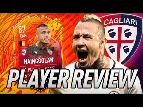 II NINJA! 🐱‍👤 87 HEADLINER NAINGGOLAN PLAYER REVIEW! - FIFA 20 Ultimate Team