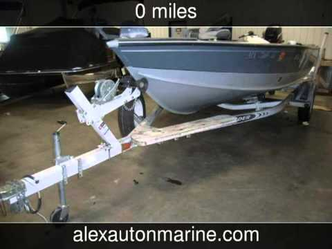 2001 Lund 1700 Angler Tiller 60hp Mercury 4 St Used Boats