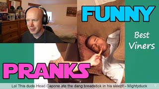 FUNNY PRANK VINES - Reaction