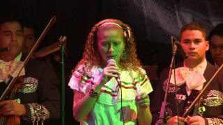 """EL PASTOR""    canta Xochitl Prado(12 yrs old) con Mariachi Mexicanisimo"