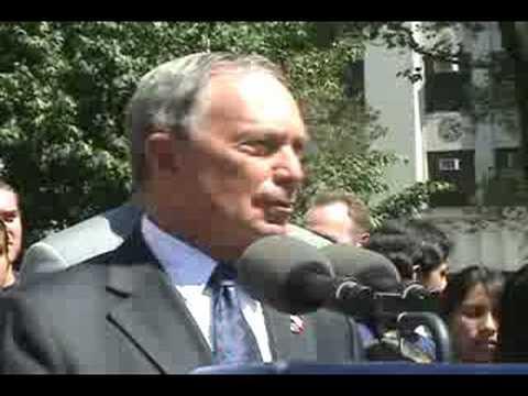 Michael Bloomberg and Dean Skelos