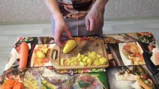 Техника формы нарезки овощей