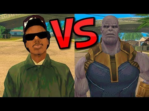 Ryder vs Thanos