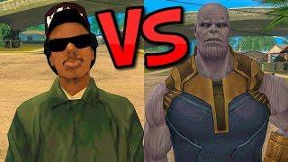 Ryder vs Thanos
