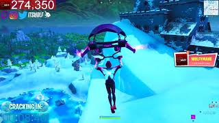 ❄️*NEW* FORTNITE POLAR PEAK CRACKING RIGHT NOW! (FORTNITE BATTLE ROYALE)