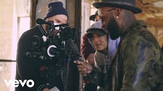 Eminem, Slaughterhouse, Yelawolf - CXVPHER (Behind The Scenes)